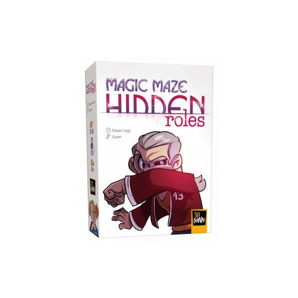 magic maze hidden roles boîte