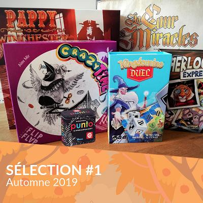 sélection automne 2019