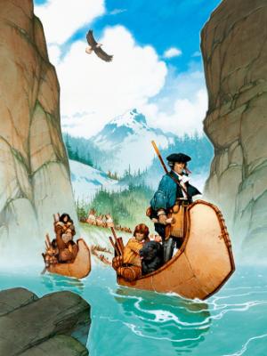 Illustration pour Lewis & clark