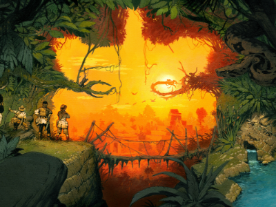 Illustration pour Tikal 2
